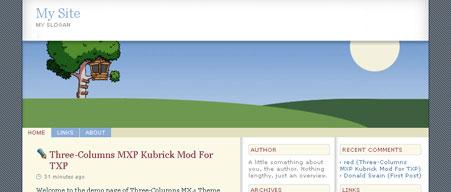 Three-Columns MXP Kubrick Mod