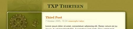 TXP Thirteen Post
