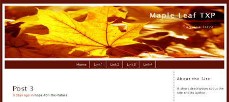 Maple Leaf for TXP